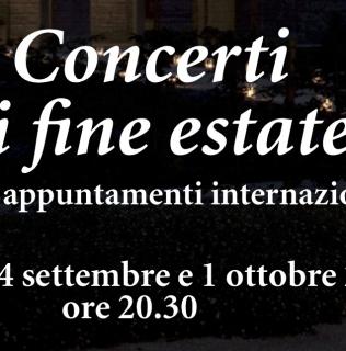Concerti di Fine Estate 2015 – 5 concerti il giovedì da inizio settembre, presso Villa dei Vescovi-FAI