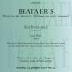 "San Giorgio – Venezia 22 giugno 2019, ""Beata eris"""