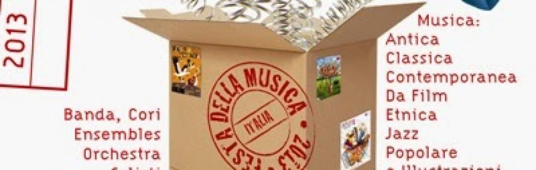 Festa della Musica Europea – 21 giugno