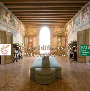 """""""Concerti di fine estate"""": musica e danza barocca con Les Éclairs de Musique, 25/9/14 – Villa dei Vescovi (FAI)"""