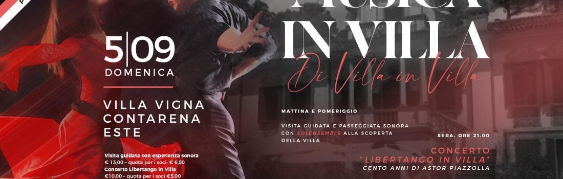 Este, Villa Vigna Contarena – le visite guidate di domenica 5 settembre 2021
