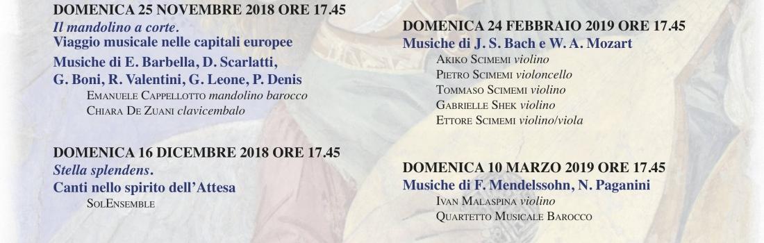 Cappella Universitaria San Massimo, 16 dicembre 2018